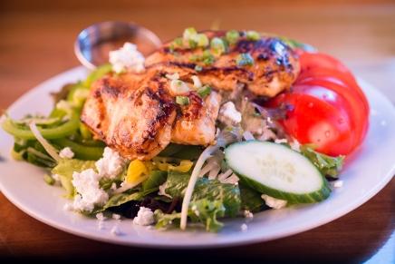 App_DD-My Other Kitchen-Marinated Grilled chicken breast over Greek salad 4